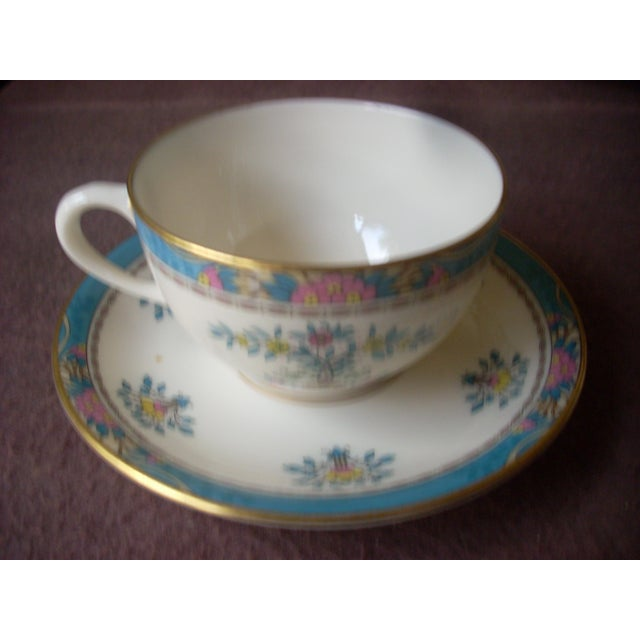 Vintge Lenox China Service for 12 Dinnerware For Sale - Image 6 of 7