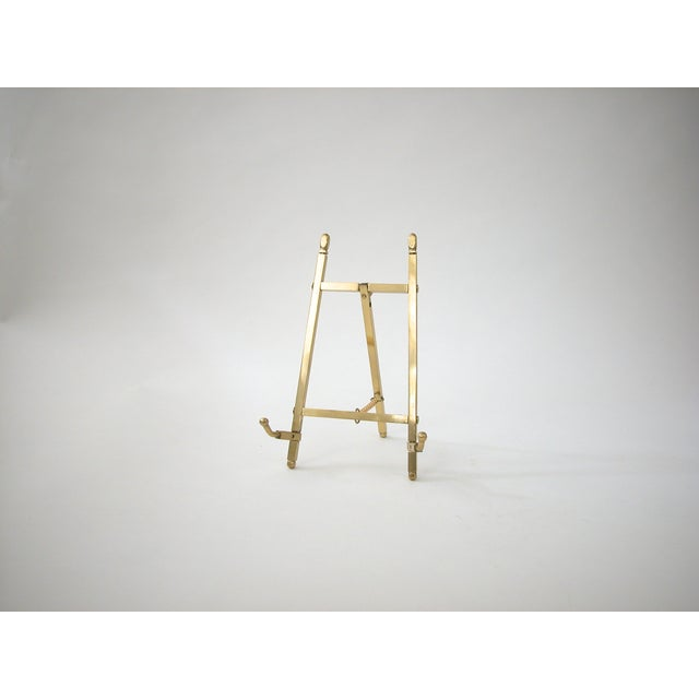 Folding Brass Easel- on Hold - Not for Sale - Image 2 of 6