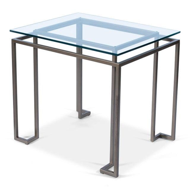 2010s Sarreid Bartlet Side Table For Sale - Image 5 of 5