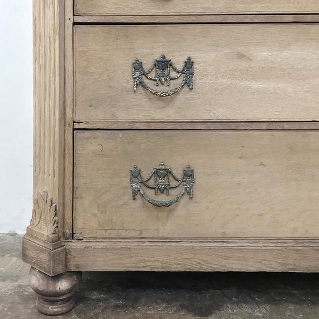 White 18th Century Louis XVI Period Stripped Dutch Wardrobe For Sale - Image 8 of 13
