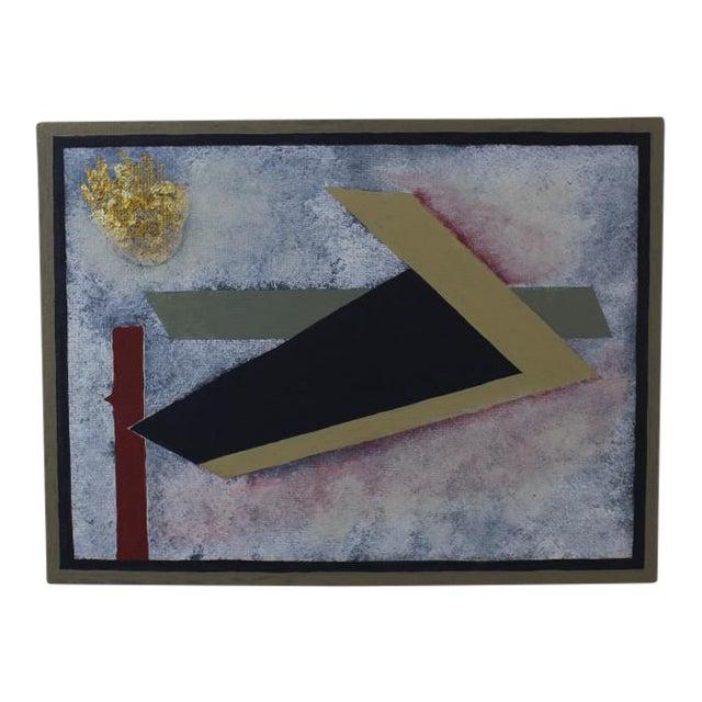 """""""Solaris"""" Original Collage Painting For Sale"""