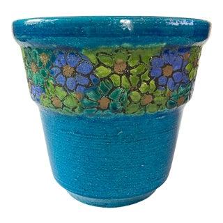 1960s Bitossi for Rosenthal Netter Ceramic Planter Pot For Sale