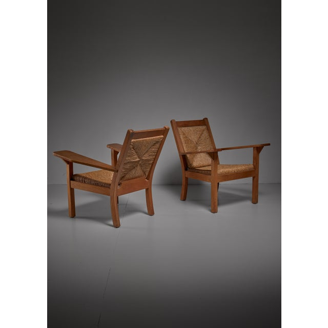 Pair of Worpsweder armchairs by Willi Ohler, Germany - Image 3 of 3