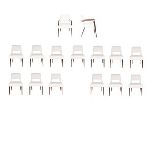 Set of 16 Hofford Dining Chairs For Sale