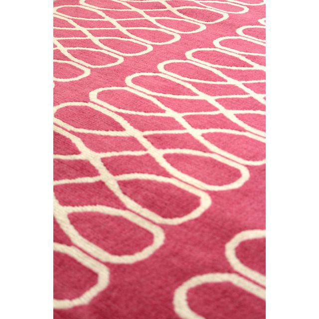 Cococozy Hand-Knotted Wool Rug - 5′ × 8′ - Image 4 of 6