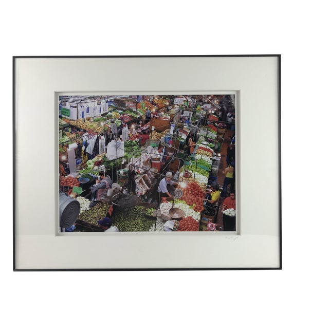 """Marketplace"" Framed Photograph by Sergio Sanchez For Sale"