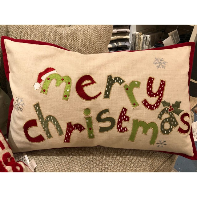Christmas pillows add a touch of whimsy to the holiday season. Perfect for the great room sectional, den sofa or guest...