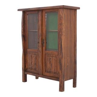 Olavi Hanninen Wabi Sabi Primitive Cabinet for Miko Nupponen For Sale
