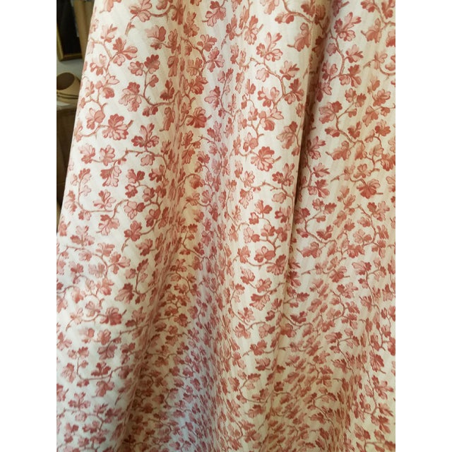 French 1990s French Ramn and Sons Cotton Leaf Print Fabric For Sale - Image 3 of 4