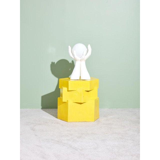 BZippy & Co BZippy & Co. Ceramic Side Table For Sale - Image 4 of 6