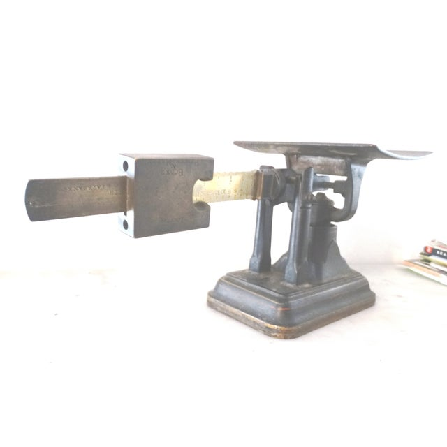Industrial Fairbanks Rotating Beam Postal Scale For Sale - Image 3 of 10