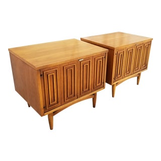 Broyhill Sculptra Nightstands For Sale