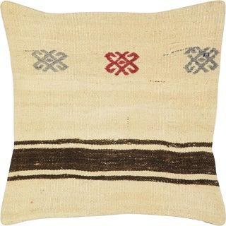 "Nalbandian - Turkish Kilim Pillow - 20""x 20"" For Sale"