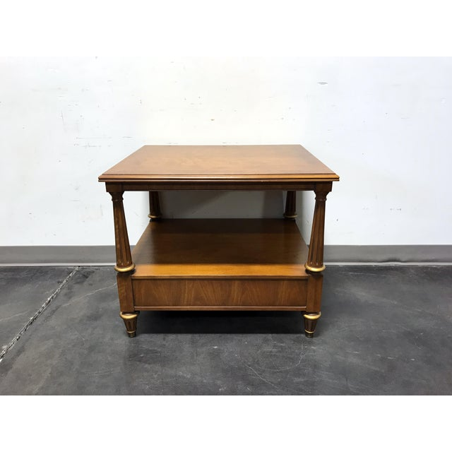 Henredon Mid Century Era Neoclassical Style Side End Table For Sale - Image 5 of 10