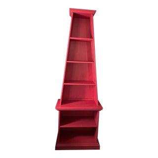 Obelisk Bookcase by Irwin & Lane For Sale