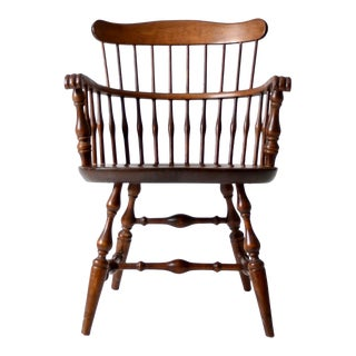 Vintage Nichols & Stone Windsor Arm Chair For Sale