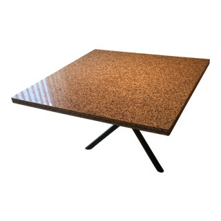 Contemporary Granite Dining Table For Sale