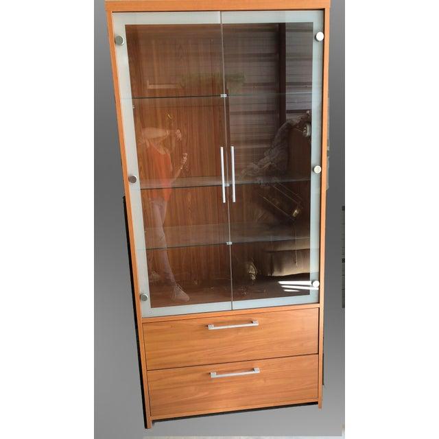 "ESF Furniture ""Carmen"" Curio Cabinet For Sale - Image 4 of 4"