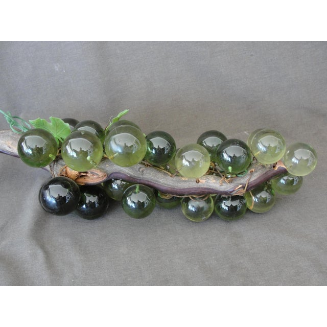Mid-Century Green Lucite Grapes - Image 6 of 6