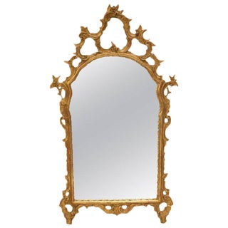 Italian 18th Century Style Carved Giltwood Mirror