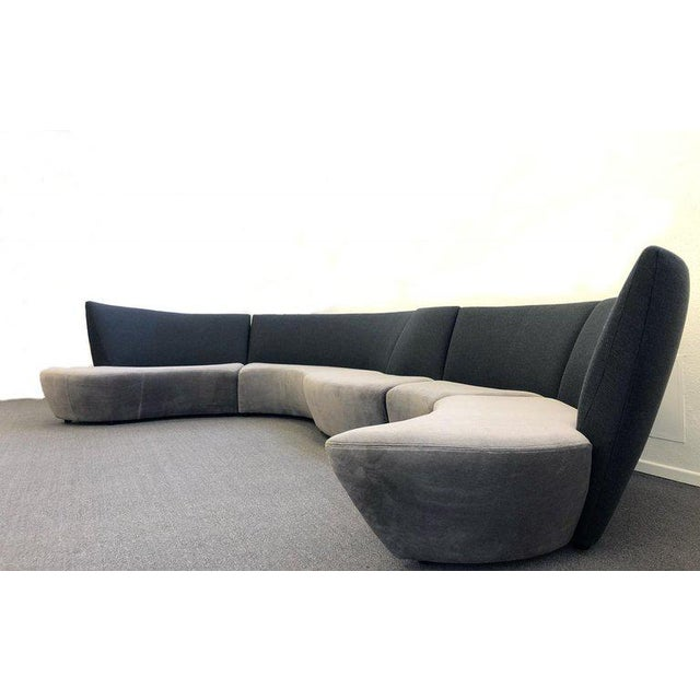 Five Piece Sectional Sofa by Vladimir Kagan for Preview For Sale In Palm Springs - Image 6 of 13