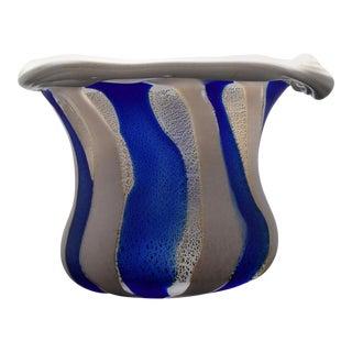 Japanese Art Glass Sculptural Vessel by Kyohei Fujita For Sale