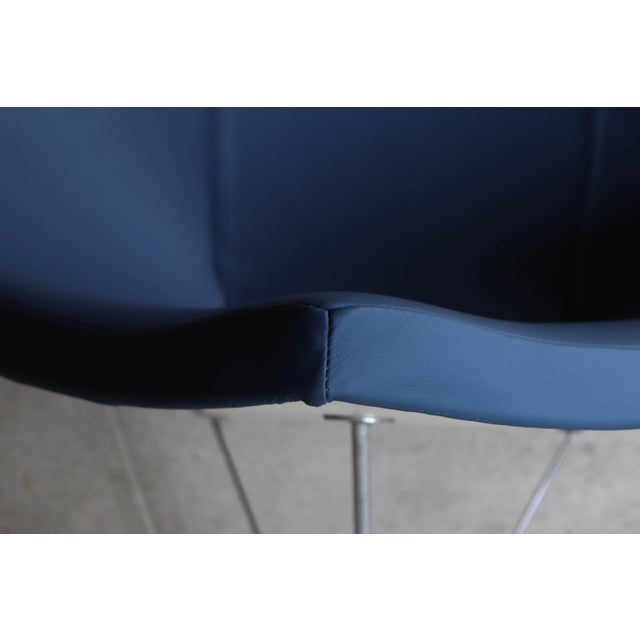 Blue 1950s Vintage George Mulhauser for George Nelson / Herman Miller First Generation Coconut Chair For Sale - Image 8 of 12