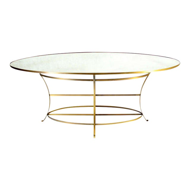 Large Oval Display Table For Sale
