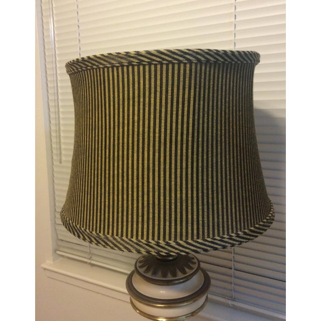 French Country Style Table Lamps - Pair - Image 10 of 10