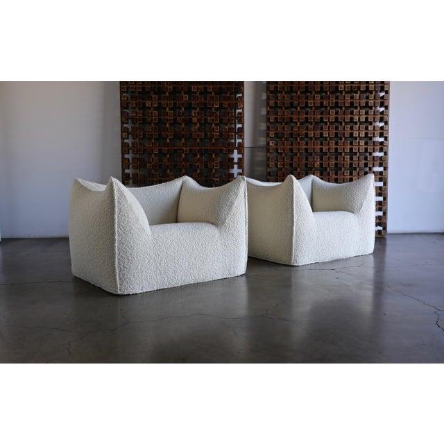 "Mario Bellini "" Le Bambole "" Lounge Chairs for B&b Italia, Circa 1985 - a Pair For Sale - Image 13 of 13"