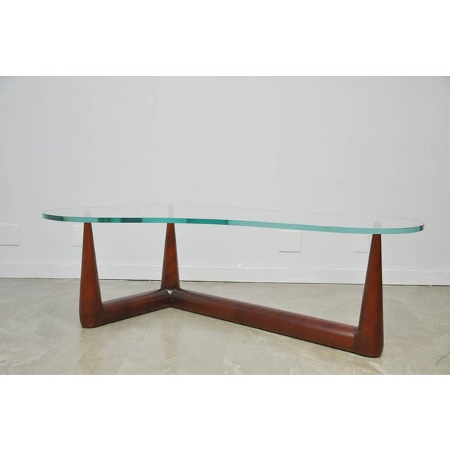 Biomorphic Coffee Table by T.H. Robsjohn Gibbings for Widdicomb - Image 3 of 6