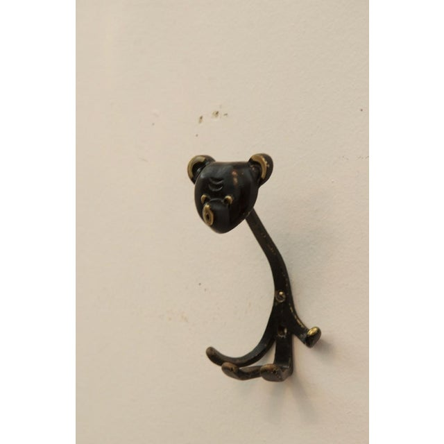 Walter Bosse Wiener Bär Wall Hook by Walter Bosse for Hertha Baller, 1955 For Sale - Image 4 of 4