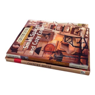 2 Hardcover Books: Rustic Homes