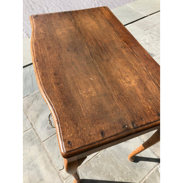 Late 19th Century Antique English Side Table For Sale - Image 5 of 7