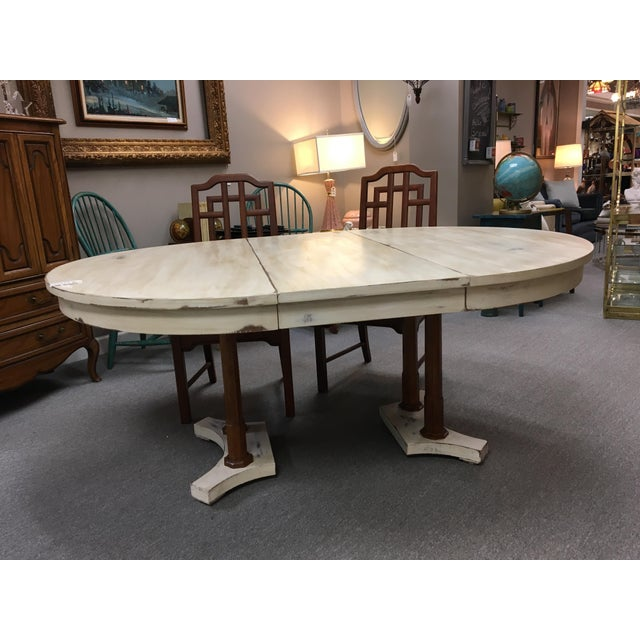 Expandable Round Farm Table For Sale In Atlanta - Image 6 of 6