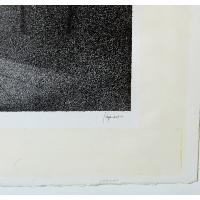 Contemporary Robert Kipniss Lithograph For Sale - Image 3 of 8
