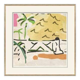 Portico Framed Art Print For Sale