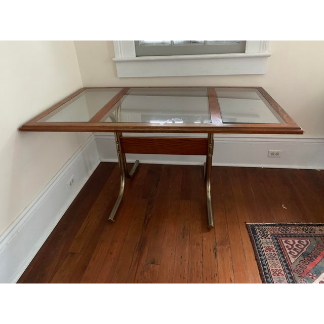 Marcel Breuer Cesca Glass Top Table For Sale In New Orleans - Image 6 of 6