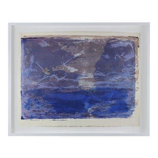 """1960s """"Serigraph 3"""" Abstract Print by Paul Chidlaw, Framed For Sale"""