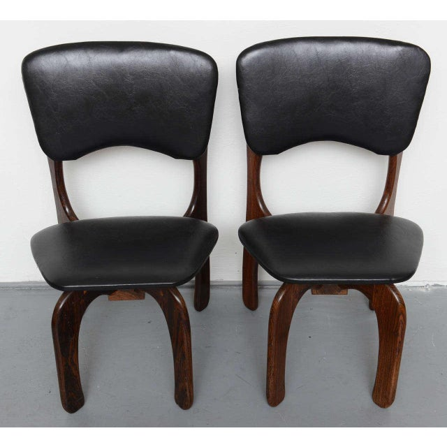Mid-Century Modern 1970s Rosewood Chairs by Don Shoemaker, Mexico For Sale - Image 3 of 9