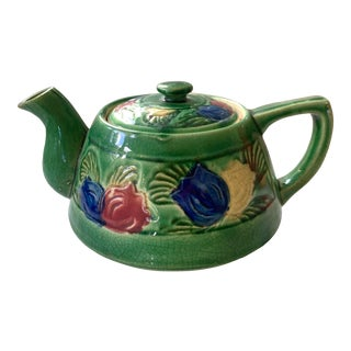 Late 1900s Floral Tea Pot. For Sale
