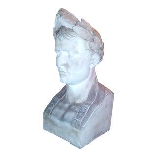 Restoration Hardware Plaster Bust of Napoleon
