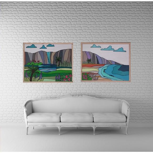 """""""Hawaiian Beach"""" Block Art by Kris Gould - Image 2 of 5"""
