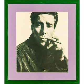 """The Earl of Snowdon"" C.1965 B&w Framed Photo by David Bailey For Sale"