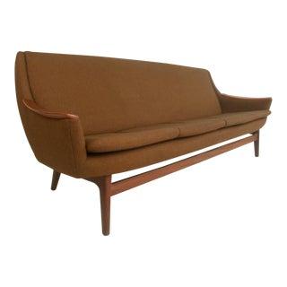 Long Mid-Century Modern Sofa For Sale