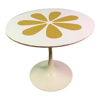 1961 Mid-Century Modern Howard McNab & Don Savage Tulip Side Table For Sale