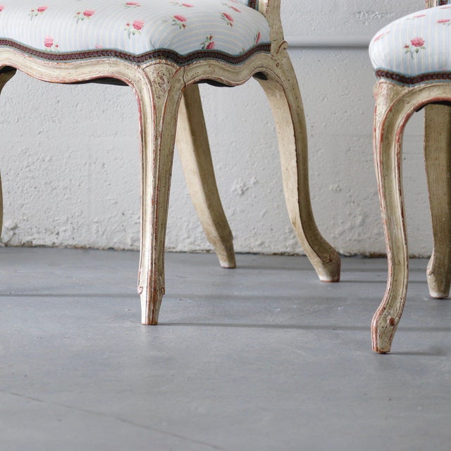 French Prie Dieu Chairs For Sale - Image 3 of 6