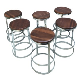 Mid-Century Modern Lievore Altherr Molina Counter Stool - 6 Available - Selling Each Individually For Sale