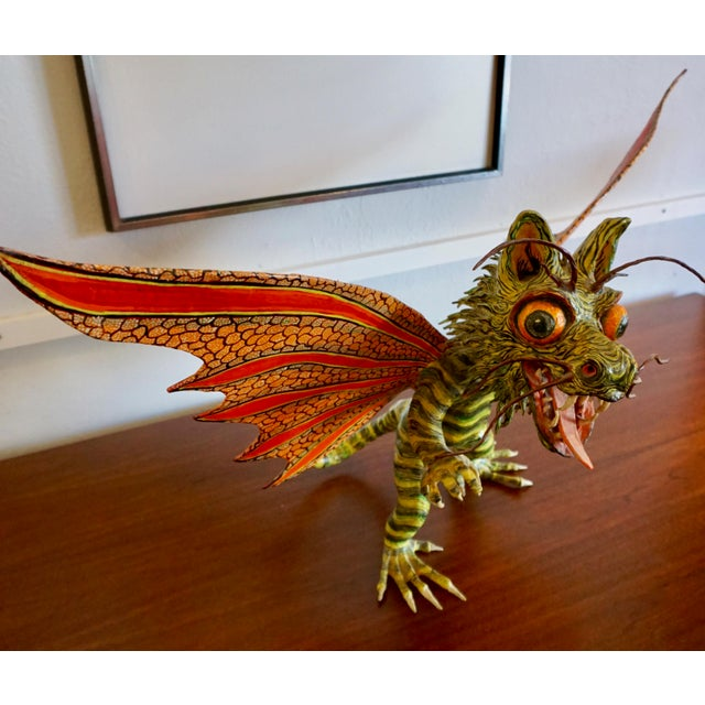 "Fantastical Creature ""Alebrijes"" by Felipe Linares For Sale In Palm Springs - Image 6 of 9"