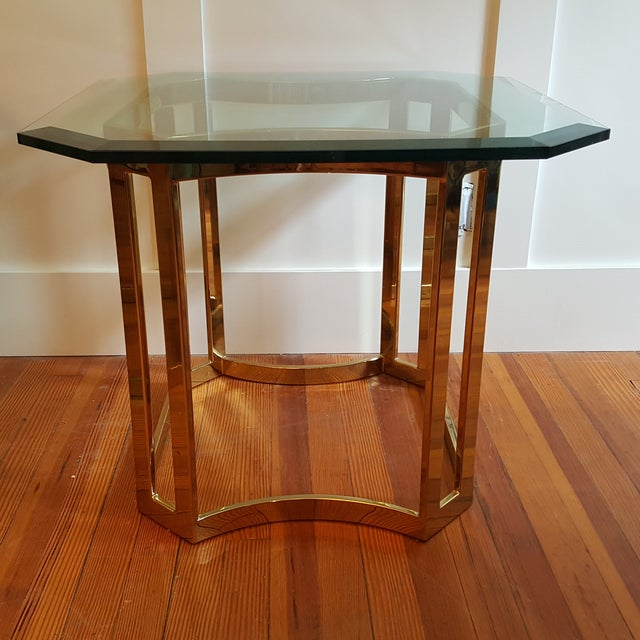 Milo Baughman Style Side Tables - A Pair - Image 7 of 8